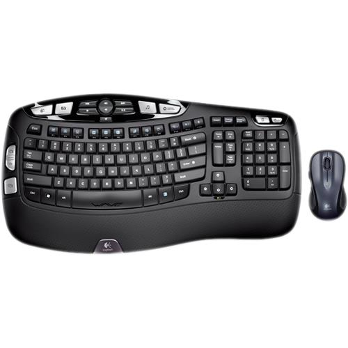 Logitech MK550 Wireless Wave French Canadian Layout Keyboard and Mouse Combo USB 920-002808