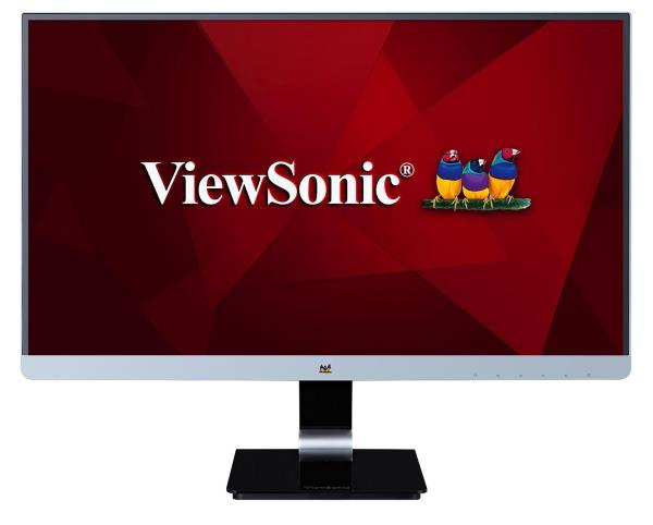"Viewsonic VX2478-SMHD 23.8"" LED LCD Monitor - 14 ms - 2560 x 1440 - 16.7 Million Colors - 300 Nit - 80,000,000:1 - WQHD - Speakers - HDMI - DisplayPort - 29 W - Black - ENERGY STAR 7.0, EPEAT Silver,"