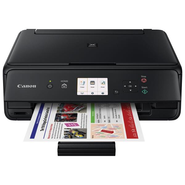"Canon PIXMA TS5020 Inkjet Multifunction Printer - Color - Photo Print - Desktop - Copier/Printer/Scanner - 39 Second Photo - 1 x Output Tray 100 Sheet - 3"" LCD - 1200 dpi Optical Scan - Wireless LAN"