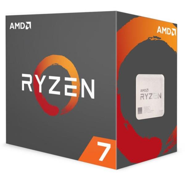 AMD RYZEN 7 1800X 3.6GHz Processor - Socket AM4 - Octa-Core (8 Core) - 16 Threads - 16MB L3 Cache - 95W TDP - 4.0GHz Max Turbo Frequency - Automatic XFR Overclocking (YD180XBCAEWOF)