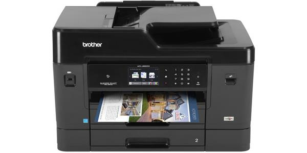 "Brother Business Smart Pro MFC-J6930DW Multifunction Printer - Color - Inkjet - Duplex - Multi-functional Inkjet Printer - 35 ppm Mono/27 ppm Color Print - Up To 4800 x 1200 dpi Print - 3.7"" LCD Touch"