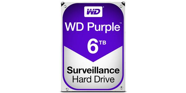 Western Digital Purple WD60PURZ 6TB SATA3 Intellipower 64MB Cache 3.5in Surveillance Hard Drive OEM