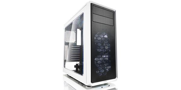Fractal Design Focus G ATX Mid Tower Computer Case Accommodates HIGH-PERFORMANCE Components - White FD-CA-FOCUS-WT-W