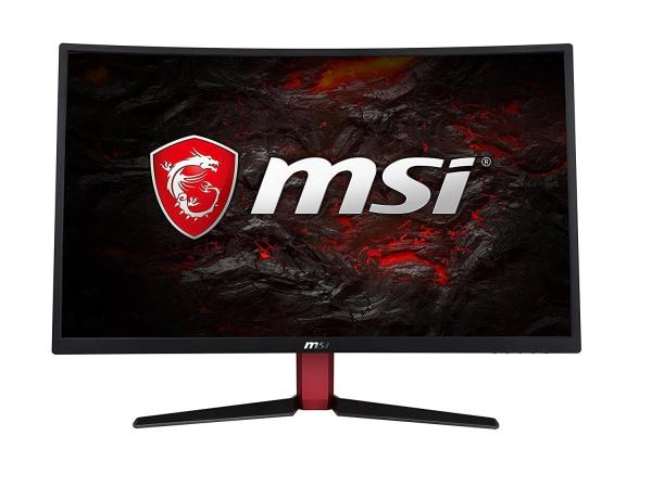 "MSI Optix G27C2 27"" LED LCD Curved Gaming Monitor - 1920x1080 - 144Hz Refresh Rate - 1800R Curve Panel - 1ms GtG - 300 cd/m2 - 3000:1 Native Contrast Ratio - 1x HDMI 1.4 - 1x DisplayPort 1.2 - 1x DVI"