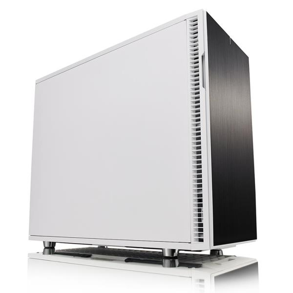 "Fractal Design Define R6 Computer Case With Steel Side Panel - Mid-tower - White - Steel - 9 x Bay - 3 x 5.51"" x Fan(s) Installed - EATX, ATX, Micro ATX, ITX Motherboard Supported - 27.34 lb - 9 x Fan"