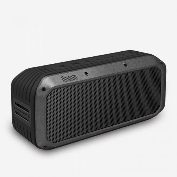 Divoom VOOMBOX POWER Ultra Rugged Portable Bluetooth Speaker w/360° Audio - 6 DSP-Tuned Drivers - IPX5 rated waterproof Design - 6000mAh Li-on Battery w/8hrs Playtime - TwS Stereo Double Pairing - NF