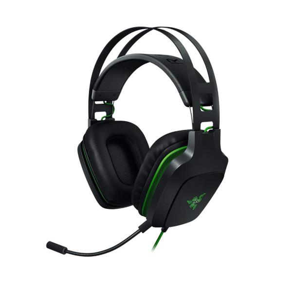 Razer Electra V2 RZ04-02220100-R3U1 Headset - Stereo - Black - USB - Wired - 32 Ohm - 20 Hz - 20 kHz - Over-the-head - Binaural - Circumaural - 4.27 ft Cable - Uni-directional Microphone