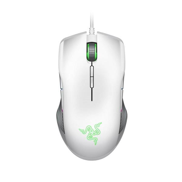 Razer Lancehead Tournament Edition Professional Ambidextrous Gaming Mouse - Mercury White Edition - Esports-Grade 16000DPI 5G Optical Sensor - OMRON Mechanical Mouse Switches - Razer Synapse 3 - CHROM