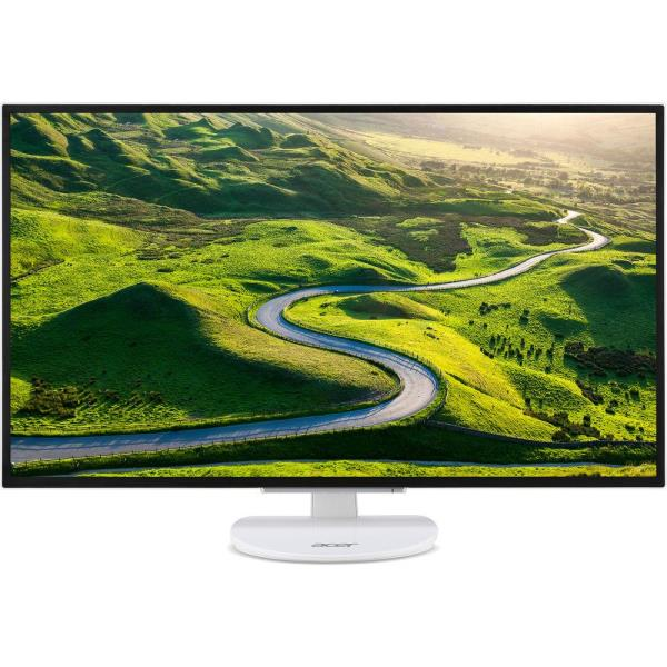 "Acer ER320HQ 31.5"" LED LCD Monitor - 16:9 - 4 ms - 1920 x 1080 - 16.7 Million Colors - 250 Nit - Full HD - DVI - HDMI - VGA - White - MPR II UM.JE0AA.001"