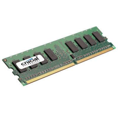 Crucial 2048MB PC6400 DDR2 800MHz SODIMM Memory