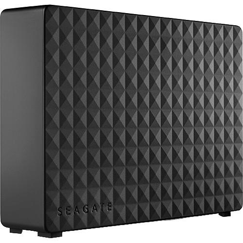 Seagate Expansion 6 TB Hard Drive - External - Desktop - USB 3.0 - 1 Year Warranty STEB6000403