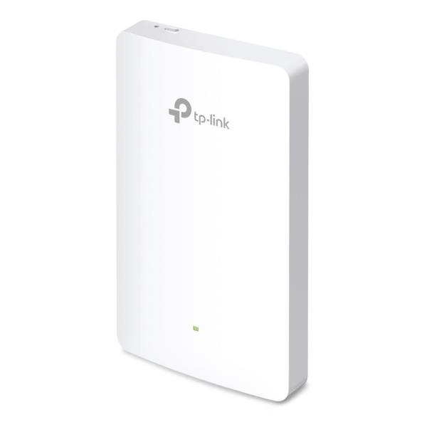TP-LINK Omada EAP225-Wall IEEE 802.11ac 1.17 Gbit/s Wireless Access Point - 5 GHz, 2.40 GHz - MIMO Technology - 4 x Network (RJ-45) - PoE Ports - Wall Mountable