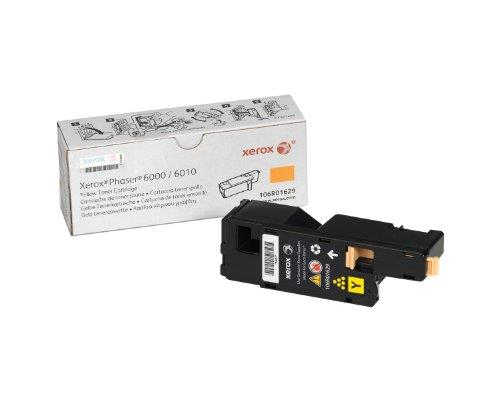 Xerox Phaser 6000/6010 / Workcentre 6015 Yellow Standard Capacity Toner Cartridge (1,000 Pages) - 106R01629