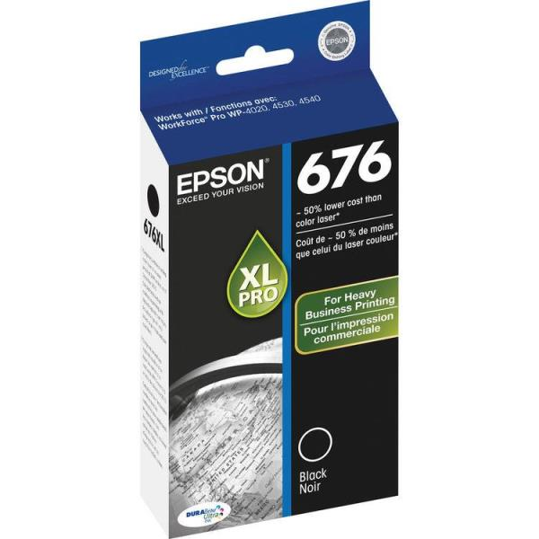 Epson DURABrite Ultra 676XL Original Ink Cartridge T676XL120