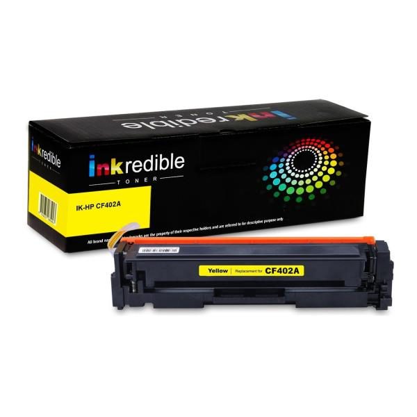 HP 201A Original Toner Cartridge - Single Pack - Laser - 1400 Pages - Yellow - 1 Each CF402A