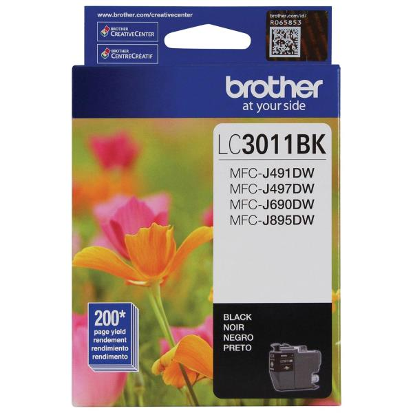 Brother Black Ink (LC3011BK) LC3011BKS