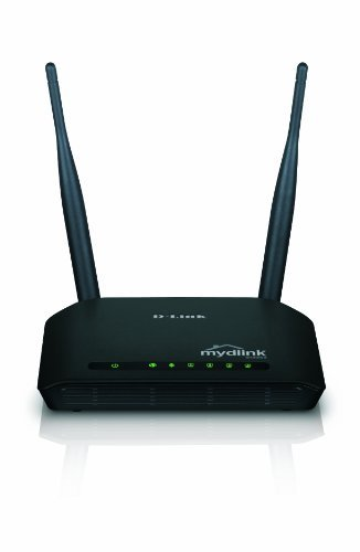 D-Link DIR-605L Wireless Router - IEEE 802.11n (draft) - 2 x Antenna - ISM Band - 300 Mbps Wireless Speed - 4 x Network Port - 1 x Broadband Port Desktop
