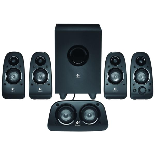 Logitech Z506 5.1 Surround Speaker System 75W RMS 980-000430