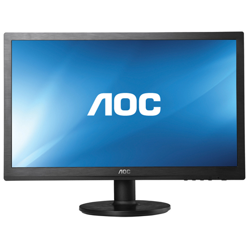 "AOC e2260Swdn 22"" LED LCD Monitor - 16:9 - 5 ms - 1920 x 1080 - 16.7 Million Colors - 200 cd/m² - 20,000,000:1 - DVI - VGA - Black - Energy Star, EPEAT Silver, RoHS"