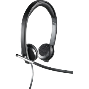 Logitech H650E Wired Headset Mono Design NO-TANGLE Cable for Business 981-000513