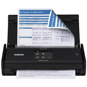 Brother ImageCenter ADS-1000W - Document scanner - Duplex - 8.5 in x 34 in - 600 dpi x 600 dpi - up to 16 ppm (mono) / up to 16 ppm (color) - ADF ( 20 sheets ) - up to 500 scans per day - USB 2.0, Wi