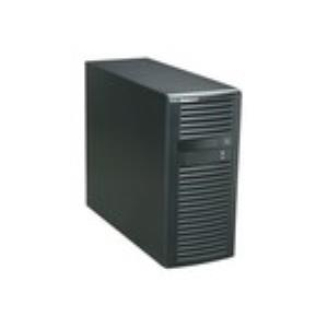 "Supermicro SuperChasis SC732D4F-500B System Cabinet - Mid-tower - Black - 7 x Bay - 1 x Fan(s) Installed - 1 x 500 W - EATX, ATX, Micro ATX Motherboard Supported - 39 lb - 2 - 2 x External 5.25"" Bay"
