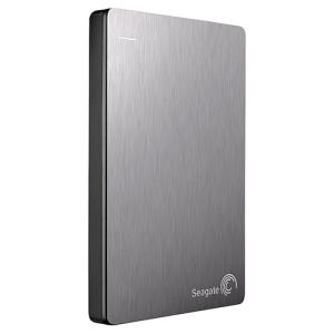 "Seagate-IMSourcing Backup Plus STDR1000101 1 TB Hard Drive - 2.5"" Drive - External - Portable - Silver - USB 3.0"