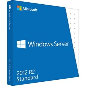Microsoft Windows Server 2012 R.2 Standard 64-bit - License et Support - 2 Processor - OEM - PC - Anglais P73-06165