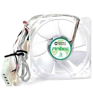 Antec TriCool 80MM DBB Case Fan 3 Speed Switch 3/4PIN Dual Ball Bearing