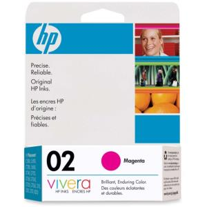 HP 2 Original Ink Cartridge - Single Pack - Inkjet - 370 Pages - Magenta - 1 Each C8772WN#140