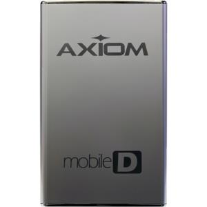 "Axiom Mobile-D 1 TB 2.5"" External Hard Drive - USB 3.0 - SATA - 7200 rpm - Hot Swappable USB3HD2571TB-AX"