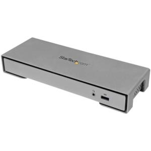 StarTech.com Thunderbolt 2 Docking Station - 4K HDMI or mDP USB Fast-Charge 5.1 Digital Optical Audio eSATA & TB Cable