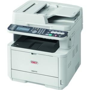 Oki MB472w LED Multifunction Printer - Monochrome - Plain Paper Print - Desktop 62444801