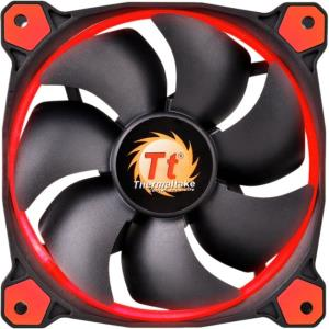 Thermaltake Riing 120mm High Static Pressure Red LED Radiator Fan CL-F038-PL12RE-A