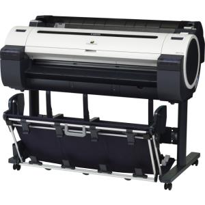"Canon imagePROGRAF iPF770 Inkjet Large Format Printer - 36"" Print Width - Color - 5 Color(s) - 25 Second Color Speed - 2400 x 1200 dpi - 256 MB - USB - Ethernet - Plain Paper, Cut Sheet, Roll Paper, B"