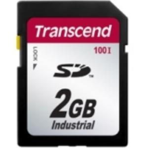 Transcend 2 GB Secure Digital (SD) Card - 1 Card TS2GSD100I