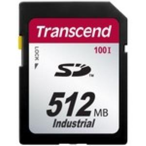 Transcend Industrial 512 MB Secure Digital (SD) Card - 17 MBps Read - 13 MBps Write - 1 Card TS512MSD100I