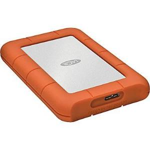 LaCie - Disque dur portatif Mobile Rugged Mini USB 3.0, 1 To