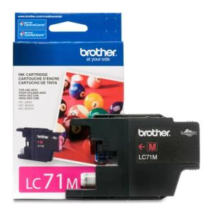 Brother Innobella LC71M Ink Cartridge - Magenta - Inkjet - 300 Page - 1 LC71MS