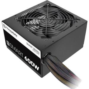 Thermaltake Smart SP-600AH2NKW ATX12V & EPS12V Power Supply - Internal - 120 V AC, 230 V AC Input - 600 W / 3.3 V DC, 5 V DC, 12 V DC, -12 V DC, 5 V DC - 1 +12V Rails - 1 Fan(s) - 86% Efficiency PS-SP