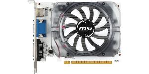 MSI N730-2GD3V3 GeForce GT 730 Graphic Card - 700 MHz Core - 2 GB DDR3 SDRAM - PCI Express 2.0 x16 - 128 bit Bus Width - Fan Cooler - DirectX 12, OpenGL 4.4 - 1 x HDMI - 1 x VGA - 1 x Total Number of