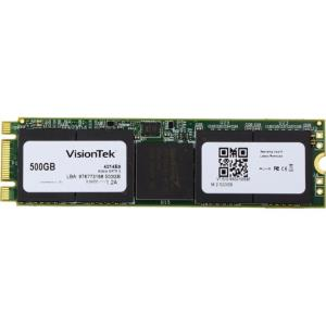 Visiontek 500 GB Internal Solid State Drive - SATA - M.2 2280 - 550 MB/s Maximum Read Transfer Rate - 500 MB/s Maximum Write Transfer Rate - Hot Pluggable - 256-bit Encryption Standard 900831