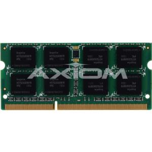Axion CF-WMBA1304G-AX Axiom 4GB DDR3L SDRAM Memory Module - 4 GB - DDR3L SDRAM - 1333 MHz DDR3L-1333/PC3-10600 - 1.35 V - Non-ECC - Unbuffered - 204-pin - SoDIM