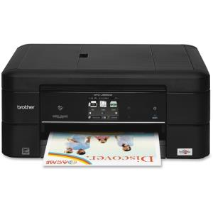 "Brother Work Smart MFC-J885DW Inkjet Multifunction Printer - Color - Desktop - Copier/Fax/Printer/Scanner - 6000 x 1200 dpi Print - 2.7"" LCD Touchscreen - 2400 dpi Optical Scan - Ethernet - Wireless L"