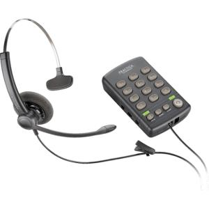 Plantronics T110H base has a Quick Disconnect (QD) connector for use with any Plantronics QD-equipped headset. Headset sold separately. - 1 x Phone Line 204556-01