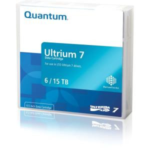 Quantum LTO Ultrium-7 Data Cartridge - LTO-7 - WORM - Labeled - 6 TB (Native) / 15 TB (Compressed) - 3149.61 ft Tape Length MR-L7WQN-BC