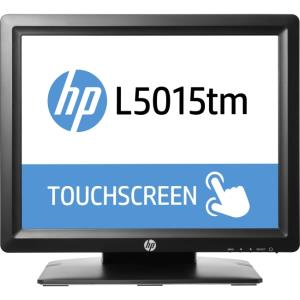 "HP L5015tm 15"" LCD Touchscreen Monitor - 4:3 - 16 ms - Acoustic Pulse Recognition - 1024 x 768 - XGA - 16.2 Million Colors - 700:1 - 250 Nit - LED Backlight - USB - VGA - Black - RoHS, China RoHS, WEE"