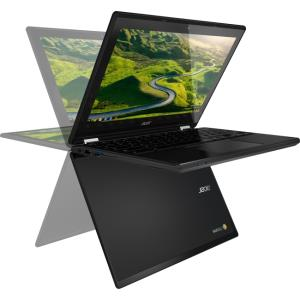 "Acer C738T-C44Z 11.6"" Touchscreen LED (In-plane Switching (IPS) Technology) Chromebook - Intel Celeron N3150 Quad-core (4 Core) 1.60 GHz - 4 GB DDR3L SDRAM RAM - Intel HD Graphics DDR3L SDRAM - Chrome"