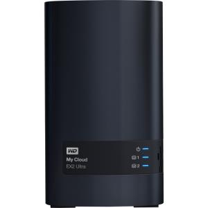 WDBVBZ0160JCH-NESN WD 16TB My Cloud EX2 Ultra Network Attached Storage - NAS - WDBVBZ0160JCH-NESN - Marvell Armada 385 385 Dual-core (2 Core) 1.30 GHz - 2 x Total Bays - 16 TB HDD - 1 GB RAM DDR3 SDRA