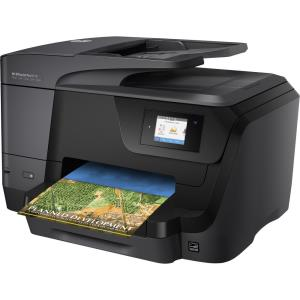 HP Officejet Pro 8710 Inkjet Printer - Multifunction - Color - Copier - Fax - Printer - Scanner - Auto Duplex Print - Ethernet - Wireless LAN - USB M9L66A#B1H